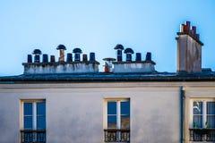 Καπνοδόχοι σπιτιών Στοκ φωτογραφία με δικαίωμα ελεύθερης χρήσης