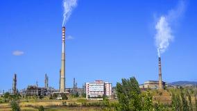 καπνοδόχος βιομηχανική απόθεμα βίντεο