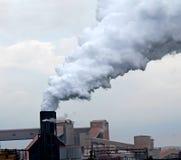 καπνοδόχος βιομηχανική Στοκ εικόνα με δικαίωμα ελεύθερης χρήσης