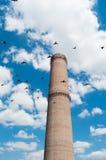 καπνοδόχος βιομηχανική Στοκ εικόνες με δικαίωμα ελεύθερης χρήσης