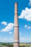 καπνοδόχος βιομηχανική Στοκ Εικόνα