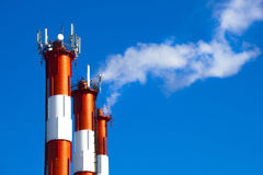 Καπνοδόχος Στοκ φωτογραφία με δικαίωμα ελεύθερης χρήσης