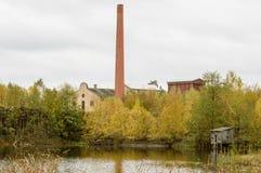 Καπνοδόχος τούβλου Στοκ φωτογραφία με δικαίωμα ελεύθερης χρήσης