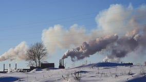 Καπνός από το σωλήνα εργοστασίων φιλμ μικρού μήκους