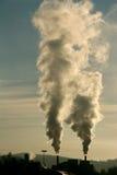 καπνός βιομηχανίας στοκ εικόνες με δικαίωμα ελεύθερης χρήσης