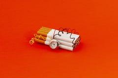 καπνός βομβών Στοκ Εικόνα