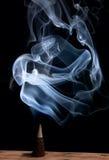 καπνός θυμιάματος κώνων Στοκ Εικόνες