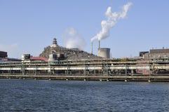 Καπνός καπνοδόχων, εργοστάσιο της Κίνας Στοκ Εικόνες