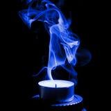 καπνός κεριών Στοκ φωτογραφίες με δικαίωμα ελεύθερης χρήσης
