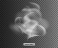 Καπνός με το μαύρο διαφανές υπόβαθρο επικάλυψη επίσης corel σύρετε το διάνυσμα απεικόνισης Καπνός Στοκ εικόνα με δικαίωμα ελεύθερης χρήσης