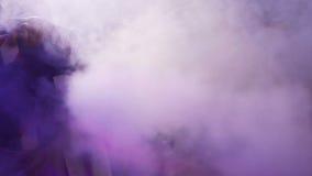 Καπνός πυροβολισμού απόθεμα βίντεο