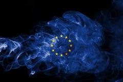 Καπνός σημαιών της ΕΕ ελεύθερη απεικόνιση δικαιώματος