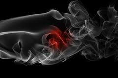 Καπνός σημαιών της Ιαπωνίας Στοκ Φωτογραφίες