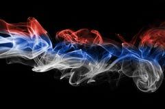 Καπνός σημαιών της Σερβίας ελεύθερη απεικόνιση δικαιώματος