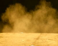καπνός σκόνης Στοκ φωτογραφίες με δικαίωμα ελεύθερης χρήσης