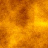 Καπνός στην κίτρινη ανασκόπηση Στοκ εικόνες με δικαίωμα ελεύθερης χρήσης