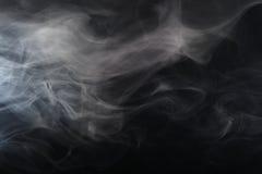 Καπνός στο φως Στοκ Εικόνα