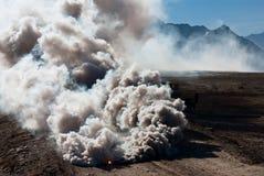 καπνός χειροβομβίδων hc m8 στοκ φωτογραφίες με δικαίωμα ελεύθερης χρήσης