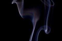 καπνός 3 προτύπων Στοκ φωτογραφία με δικαίωμα ελεύθερης χρήσης