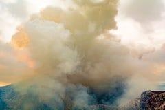 Καπνός Masaya Στοκ εικόνα με δικαίωμα ελεύθερης χρήσης