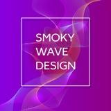 Καπνώές υπόβαθρο κυμάτων Δομικό κυρτό σχέδιο, απεικόνιση κινήσεων ροής Αφηρημένο σκηνικό, πρότυπο για την κάλυψη απεικόνιση αποθεμάτων