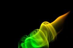 καπνώδης στρόβιλος Στοκ εικόνα με δικαίωμα ελεύθερης χρήσης