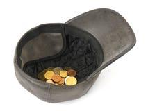 ΚΑΠ με τα χρήματα Στοκ φωτογραφίες με δικαίωμα ελεύθερης χρήσης