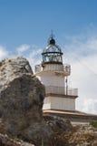 ΚΑΠ creus de lighthouse Ισπανία στοκ εικόνες