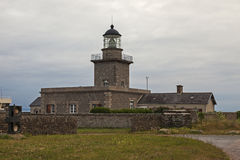 ΚΑΠ de Carteret Lighthouse Στοκ Εικόνες