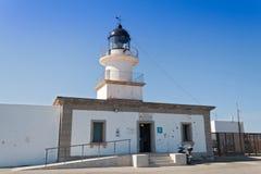ΚΑΠ de Creus Lighthouse Cadaqus, Ισπανία Στοκ Εικόνες