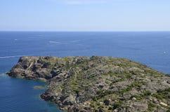 ΚΑΠ de Creus Natural πάρκο Στοκ Εικόνες