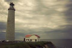 ΚΑΠ des Rosiers Lighthouse στο Κεμπέκ Στοκ εικόνες με δικαίωμα ελεύθερης χρήσης