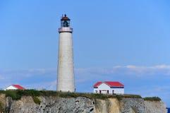 ΚΑΠ des Rosiers Lighthouse Στοκ φωτογραφία με δικαίωμα ελεύθερης χρήσης
