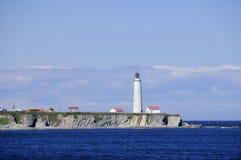 ΚΑΠ des Rosiers Lighthouse Στοκ Φωτογραφία