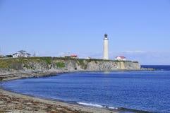 ΚΑΠ des Rosiers Lighthouse Στοκ εικόνα με δικαίωμα ελεύθερης χρήσης