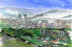 Καράκας Βενεζουέλα ελεύθερη απεικόνιση δικαιώματος