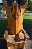 Καρέκλα δέντρων στοκ φωτογραφία με δικαίωμα ελεύθερης χρήσης
