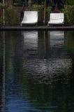 Καρέκλα γεφυρών στο ξενοδοχείο στη Μαδαγασκάρη Στοκ φωτογραφία με δικαίωμα ελεύθερης χρήσης