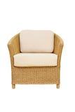 Καρέκλα μπαμπού ύφανσης επίπλων καναπέδων Στοκ φωτογραφίες με δικαίωμα ελεύθερης χρήσης
