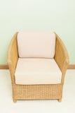 Καρέκλα μπαμπού ύφανσης επίπλων καναπέδων Στοκ Εικόνες