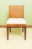 Καρέκλα μπαμπού ύφανσης επίπλων καναπέδων Στοκ φωτογραφία με δικαίωμα ελεύθερης χρήσης