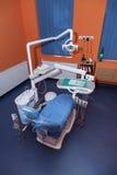Καρέκλα οδοντιάτρων Στοκ φωτογραφία με δικαίωμα ελεύθερης χρήσης