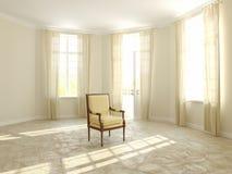 Καρέκλα υφασμάτων Στοκ φωτογραφία με δικαίωμα ελεύθερης χρήσης