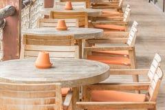 Καρέκλες άποψης Στοκ Φωτογραφία