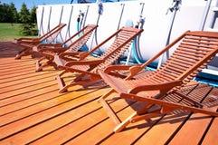 Καρέκλες γεφυρών Στοκ Εικόνα
