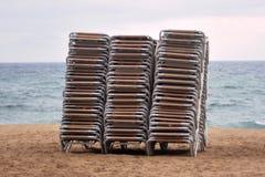 Καρέκλες γεφυρών Στοκ εικόνες με δικαίωμα ελεύθερης χρήσης