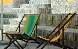 Καρέκλες γεφυρών Στοκ Εικόνες