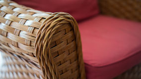 Καρέκλες ινδικού καλάμου Στοκ Εικόνα