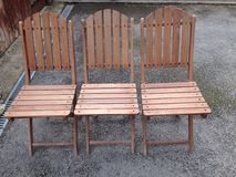 Καρέκλες κήπων Στοκ φωτογραφία με δικαίωμα ελεύθερης χρήσης