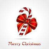 Καραμέλα-κάλαμος Χριστουγέννων Στοκ Φωτογραφία